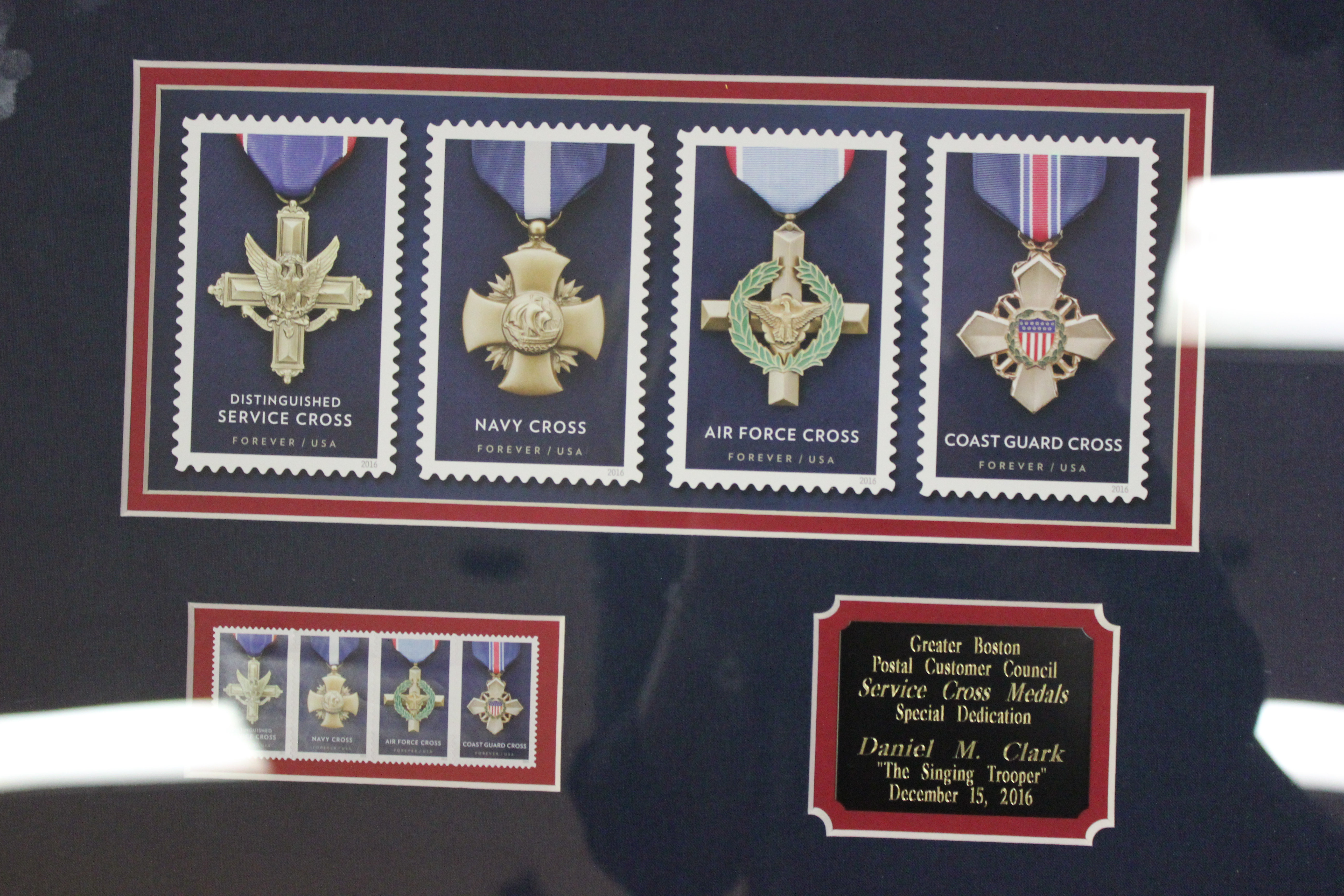 Greater Boston Postal Customer Council - Military Stamp